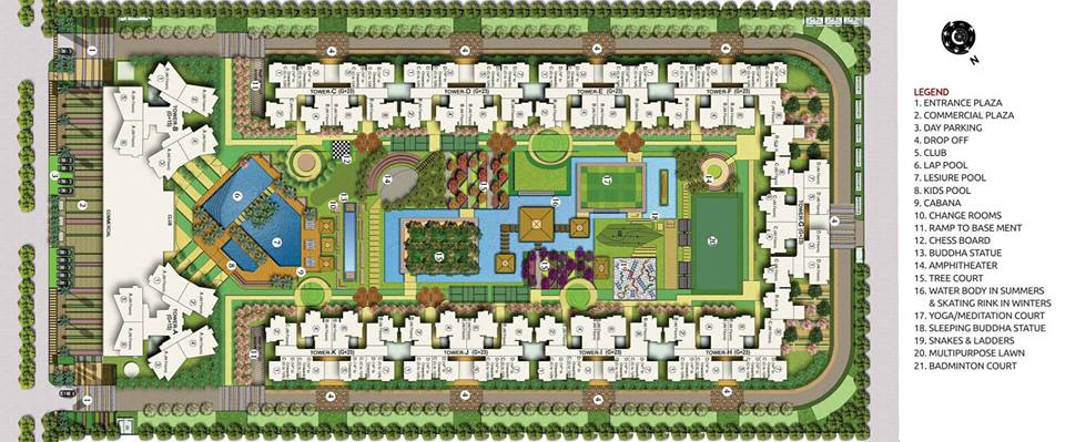 Ace Divino Site Plan